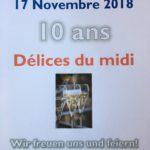 10 Jahre Délices du midi im 4. Bezirk in Wien